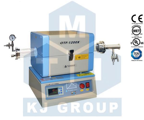 合肥科晶OTF-1200X-S 1200℃微型开启式管式炉